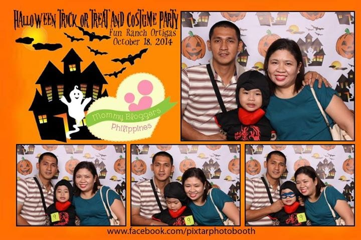 Mommy Anna @ Mommy Bloggers Philippines Halloween Party