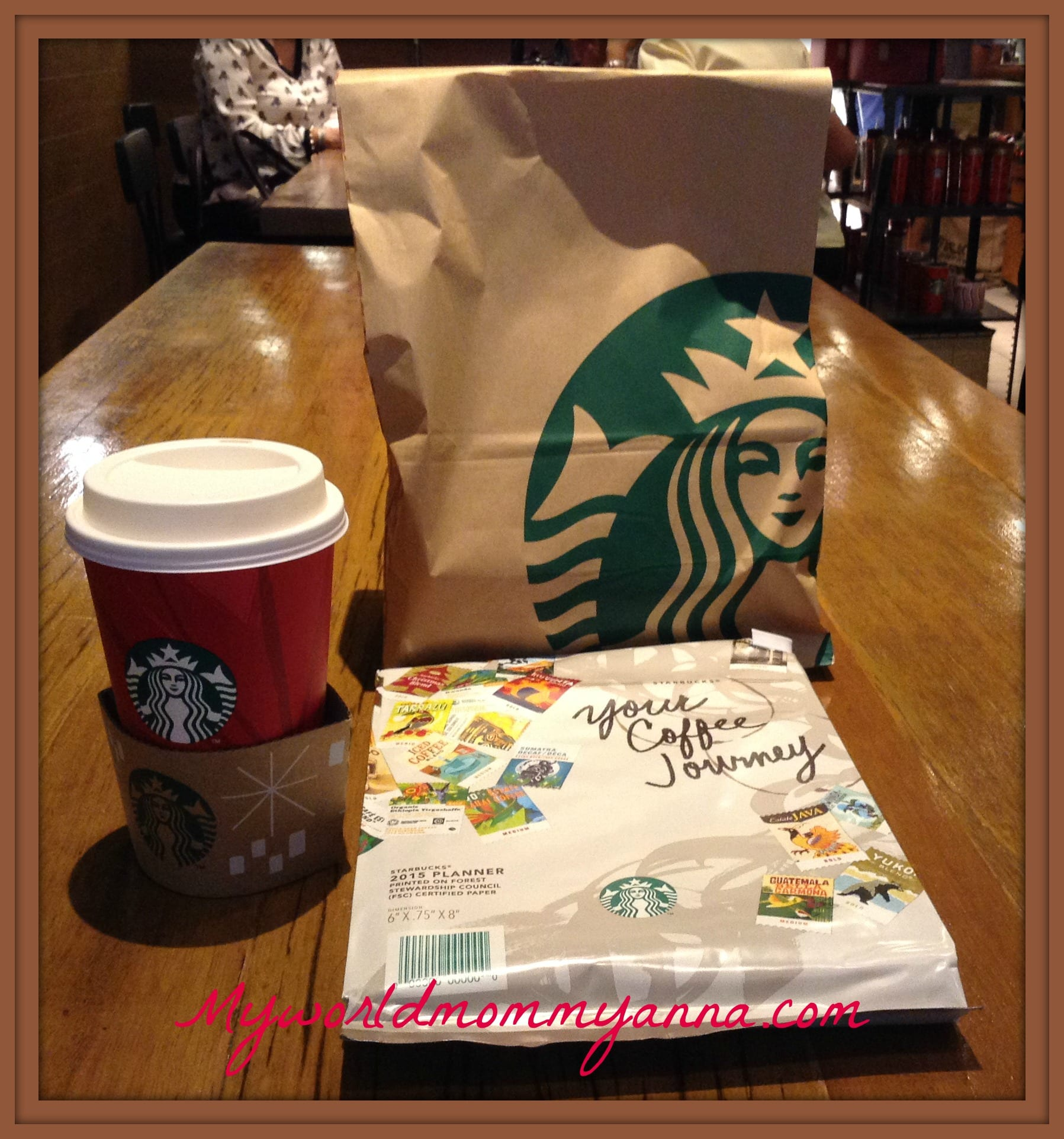My Starbucks Planner 2015