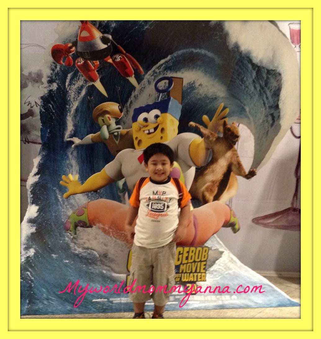 Spongebob Out of the Water Movie Date with My Little Kulit