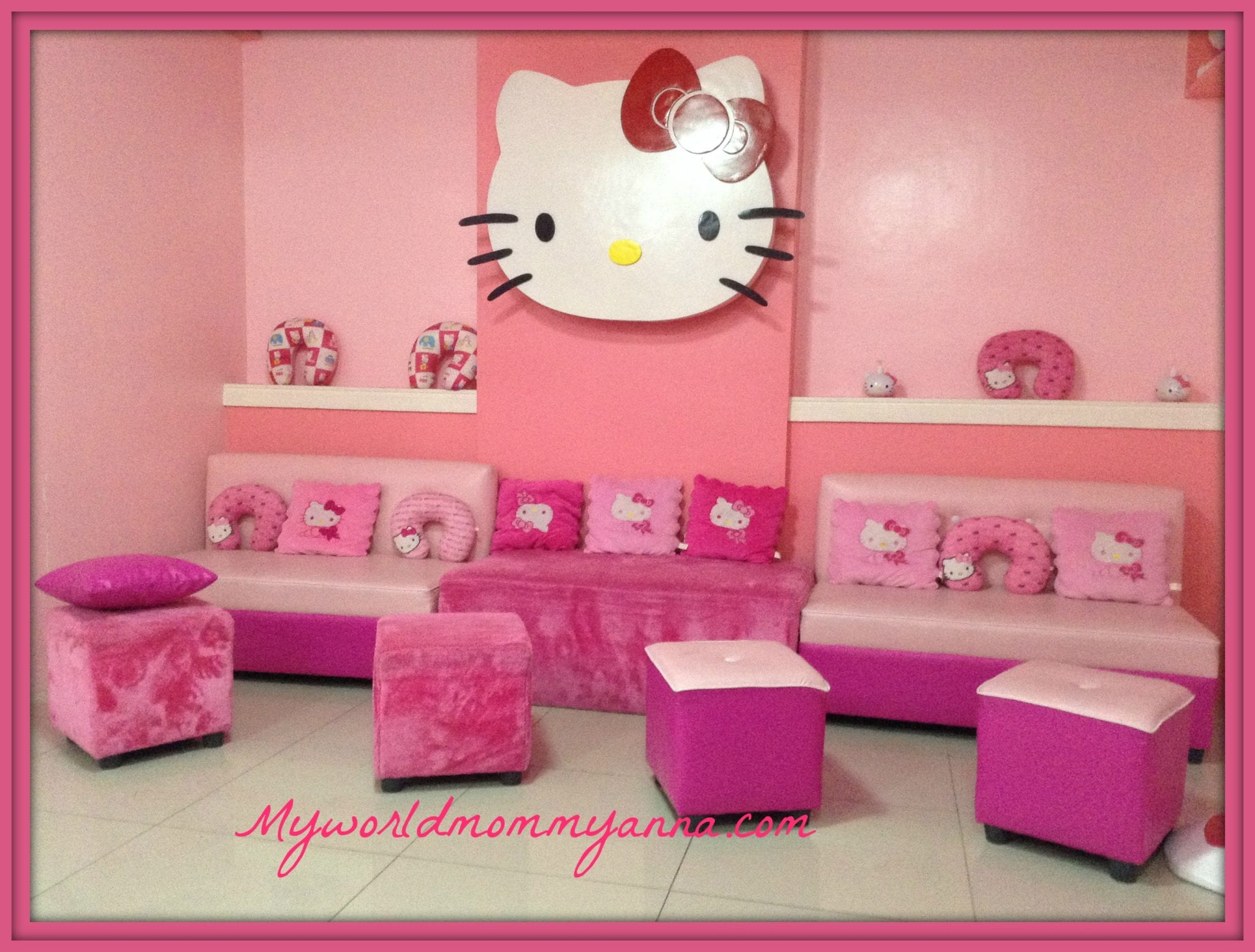 girl bonding momsie kitty spa and slimming salon my world mommy anna