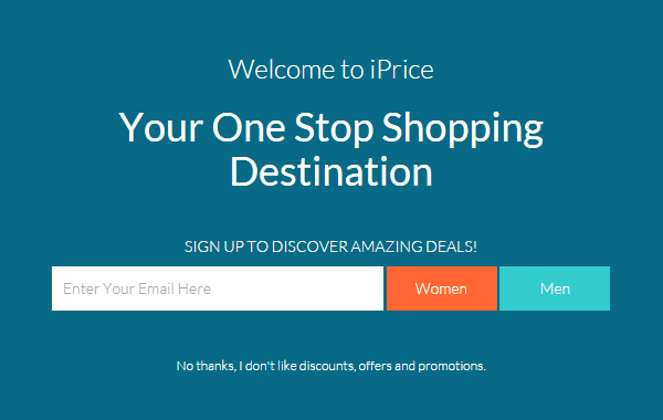 """iprice"" Your One Shopping Destination"