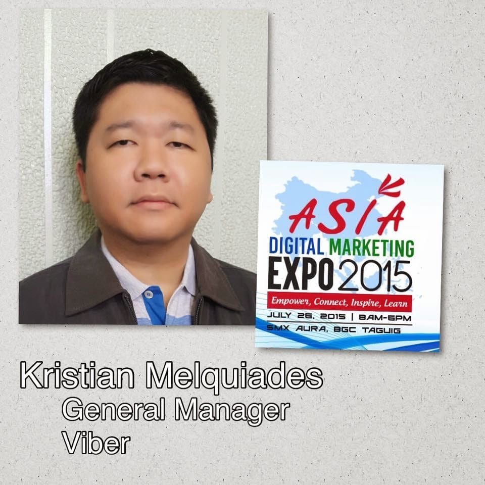 Viber joins Asia Digital Marketing Expo 2015