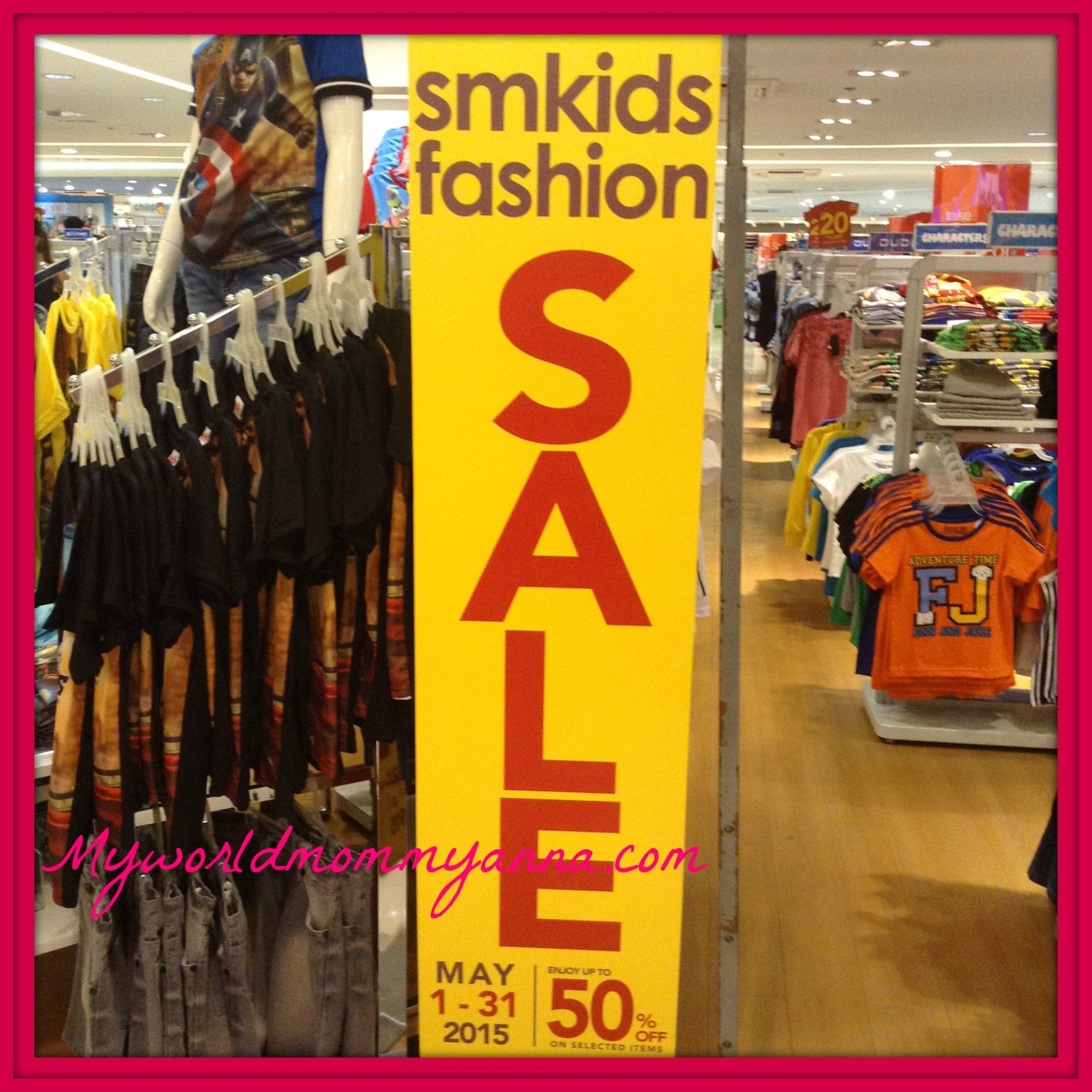 SM Kids Fashion Sale