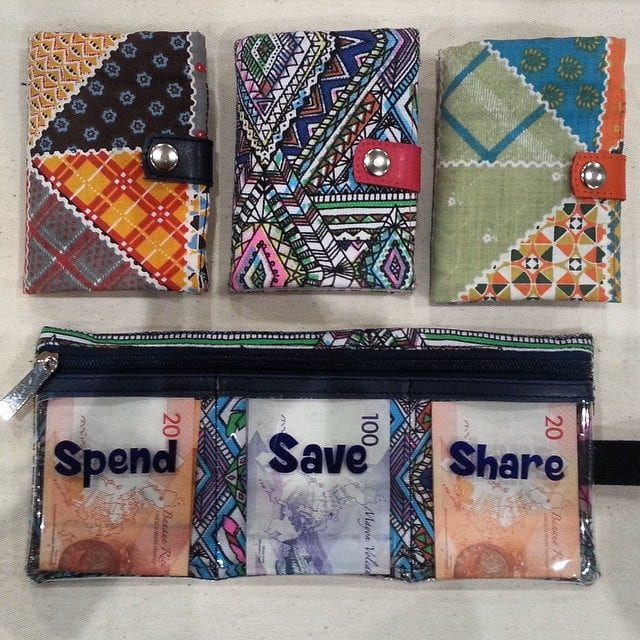 Trifold Wallet from AdoraBella